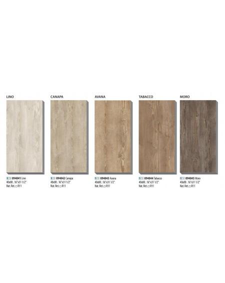 Dlažba imitující dřevo Ca Foscari Avana 40x80cm rtt. Výroce La Fabbrica venkovní v tloušťce 2cm protiskluzová povrch R11