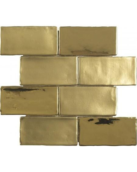 Obklad Grace 1/ks gold zlatý mix lesk - mat 30x30cm ( obsahuje set 8ks 7,5x15cm ) výrobce Dune