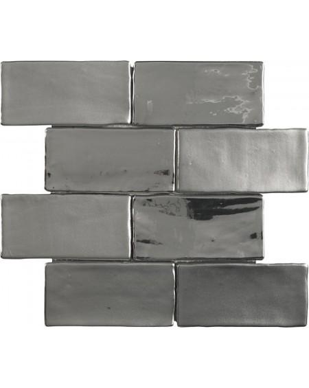 Obklad Charm silver stríbrný - chrom mix lesk - mat 30x30cm ( obsahuje set 8ks 7,5x15cm ) výrobce Dune