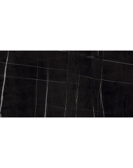 Dlažba obklad černý mramor lesk slim ultratenká Infinito 2.0 Sahara Noir Glossy 60x120cm / 6,5mm rtt. Výrobce Fondovalle lesk
