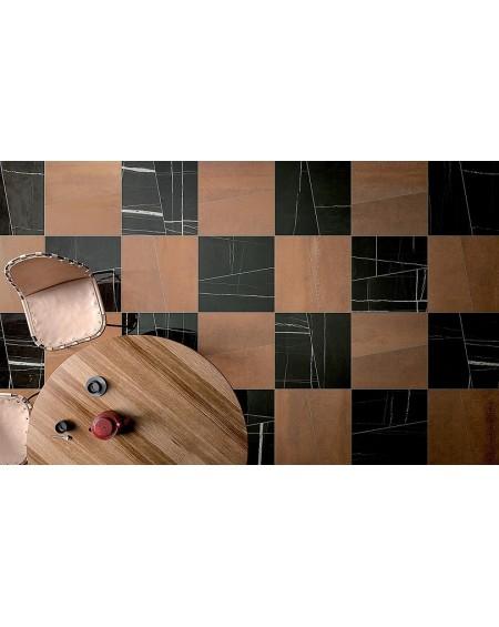 Dlažba obklad černý mramor lesk Infinito Sahara Noir Glossy 35x25x60 mm rtt. Lappato výrobce Fondovalle