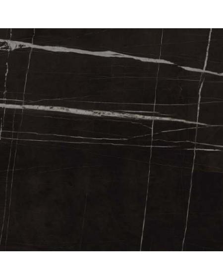 Dlažba obklad černý mramor lesk slim ultratenká Infinito 2.0 Sahara Noir Glossy 120x120cm / 6,5mm rtt. Výrobce Fondovalle lesk