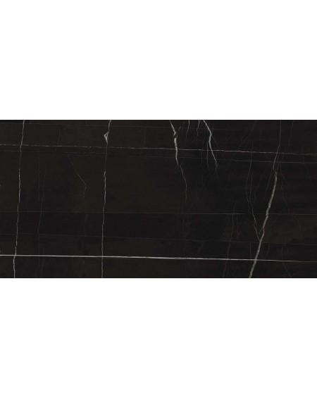 Dlažba obklad černý mramor lesk slim ultratenká Infinito 2.0 Sahara Noir Glossy 120x240cm / 6,5mm rtt. Výrobce Fondovalle lesk