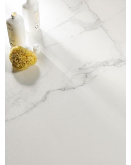 Dlažba obklad bílý mramor Calacatta White Nature ultra slim 120x120cm tl. 6,5mm rtt. Výrobce Fondovalle Italy mat