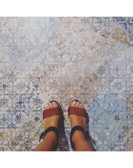 Dlažba obklad imitující provence retro Carpet Vestige natural 100x100cm výrobce Aparici povrch matný