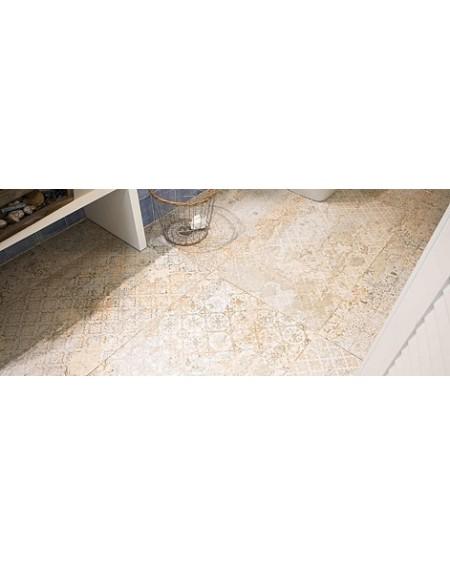 Dlažba obklad imitující provence retro Carpet Sand natural 100x100cm výrobce Aparici povrch matný