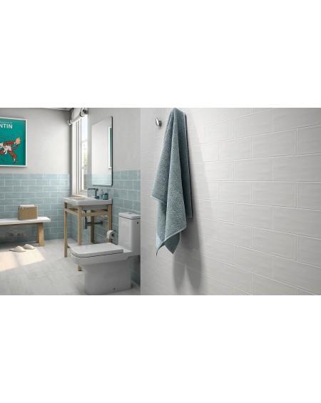 Koupelnový obklad retro lesklý Deco Maiolica Aqua 11x25cm cm výrobce Roca 1/m2