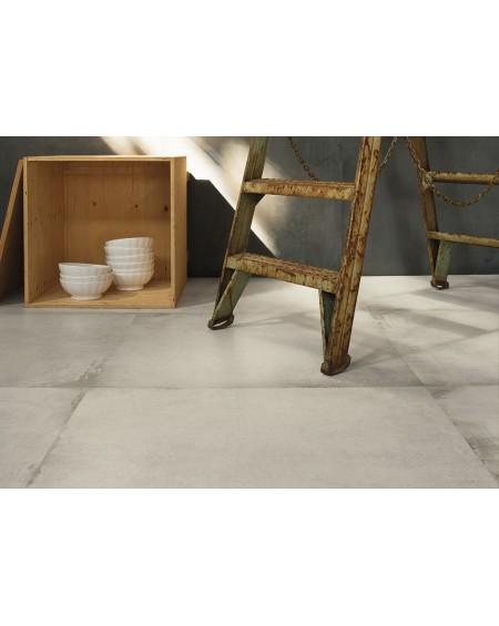 Dlažba obklad velkoformátová gres imitující beton Warerfront 90W + N90 90x90cm výrobce Leonardo Italy kalibrovaná matná