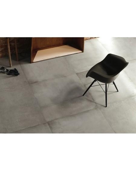 Dlažba obklad velkoformátová gres imitující beton Warerfront 90G Grey 90x90cm výrobce Leonardo Italy kalibrovaná matná