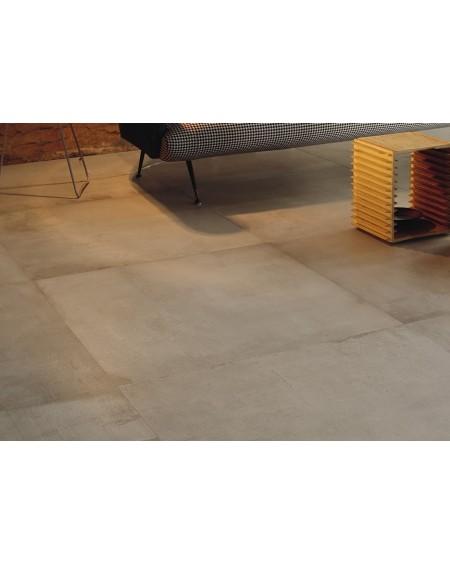 Dlažba obklad velkoformátová gres imitující beton Warerfront 90B Beige 90x90cm výrobce Leonardo Italy kalibrovaná matná