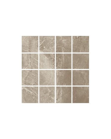 Dlažba obklad imitace mramoru Kashmir Taupe 75x37,5cm rtt. Polished výrobce Pamesa / mosaiko Malla 30x30cm 1/m2