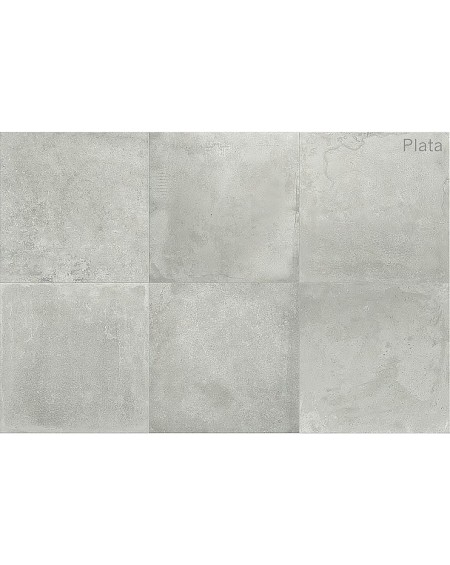 Dlažba obklad imitace betonu Titan Plata 75x75cm rtt. Naturale výrobce Pamesa matná