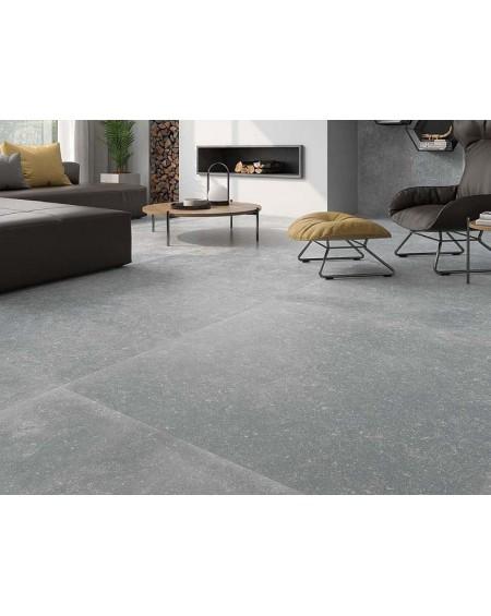 Dlažba obklad imitující hladký kámen beton Cromat Belgio Perla 75x75cm rtt. Výrobce Pamesa matná