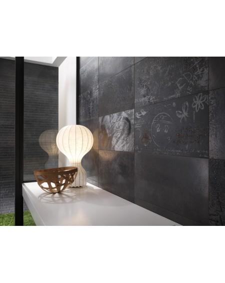 Dlažba obklad velkoformátová imitující beton Word Up GR grey 60x60cm lappato rtt. Výrobce Leonardo It. Povrch lesk