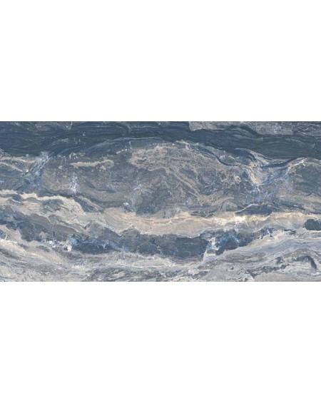 Dlažba obklad imitující modrý mramor Castle Prague 60x120 cm Rtt. Lappato povrch lesk kalibrováno výrobce La Fabbrica