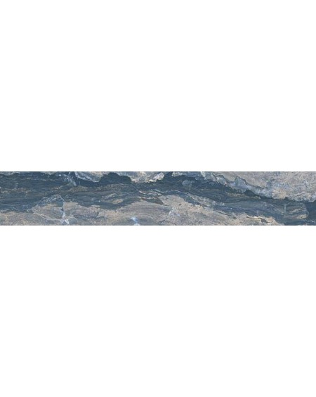 Dlažba obklad imitující modrý mramor Castle Prague 20x120 cm Rtt. Lappato povrch lesk kalibrováno výrobce La Fabbrica