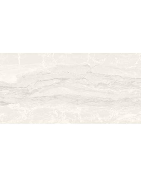 Dlažba obklad imitující bílý mramor Castle Balmoral 60x120 cm Rtt. Lappato povrch lesk kalibrováno výrobce La Fabbrica