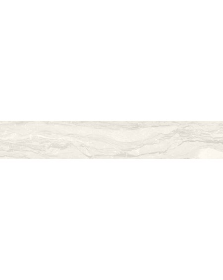 Dlažba obklad imitující bílý mramor Castle Balmoral 20x120 cm Rtt. Lappato povrch lesk kalibrováno výrobce La Fabbrica