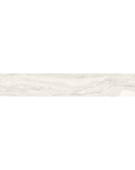 Dlažba obklad imitující bílý mramor Castle Balmoral 20x120 cm Rtt. Naturale povrch mat kalibrováno výrobce La Fabbrica