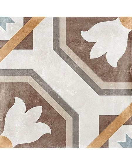 Dlažba obklad patchwork retro se vzorem decore Tempo Sabik 60x60cm povrch R9 výrobce Arcana cena za 1/m2