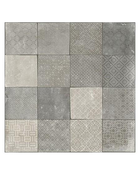 Obklad dlažba patchwork retro se vzorem decor Tempo Besel Gris Rtt. Kalibrováno 60x60cm povrch R9 výrobce Arcana cena za 1/m2