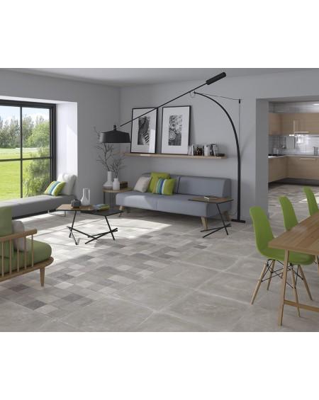 Obklad dlažba patchwork retro se vzorem decor Tempo Gris Rtt. Kalibrováno 60x60cm povrch R9 výrobce Arcana cena za 1/m2