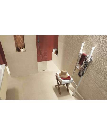 Koupelnový obklad barevný matný Color Line Marsala 25x75cm výrobce Fap / Rope Beige