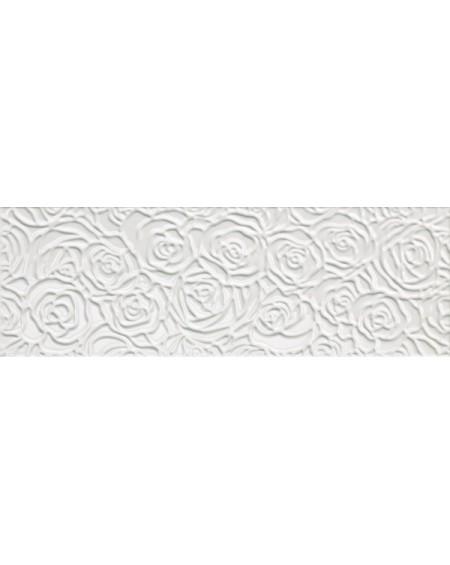 Koupelnový obklad barevný lila Sole Bianco 25x75 cm lesk výrobce Fap / Rose Bianco cena za 1/m2