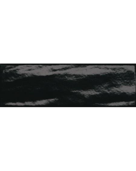 Obklad lesklý retro Manhattan Black 10x30cm výrobce Fap Italy