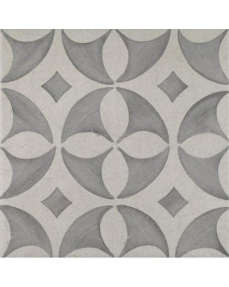 Dlažba obklad se vzorem art retro patchwork matná 1920 Mix Grey 25x25cm výrobce Codicer