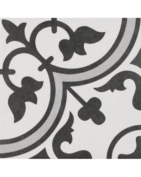 Dlažba obklad se vzorem art retro patchwork matná Arte Grey 25x25cm výrobce Codicer