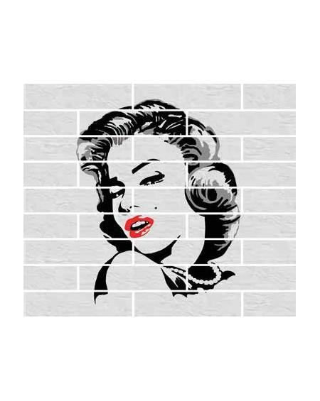 Dlažba obklad brick matná Tribeca white 6x25cm výrobce Rondine dekore Marylin 18ks