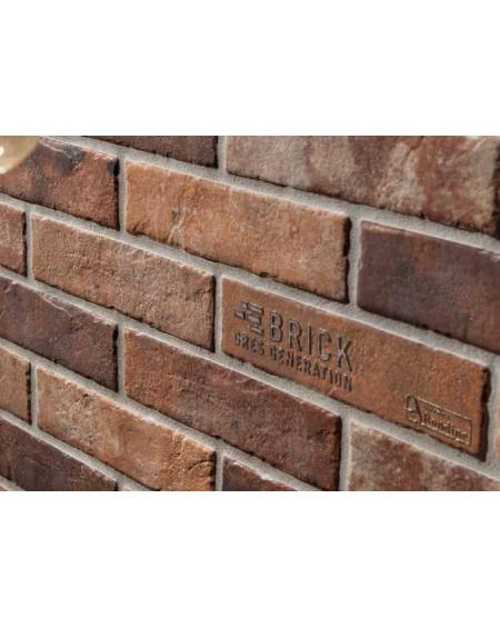 Dlažba obklad brick matná Tribeca old red 6x25cm výrobce Rondine dekore cena za 1/ks