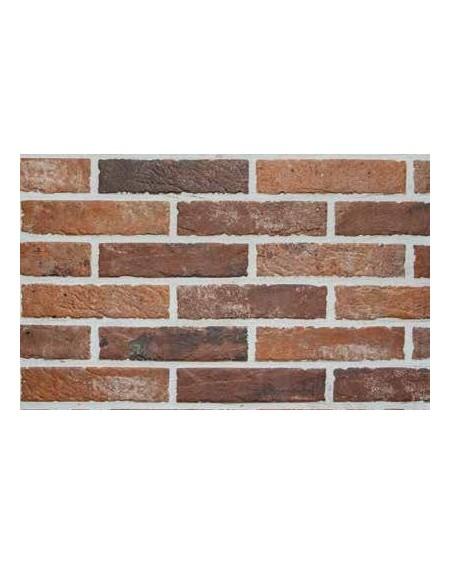 Dlažba obklad brick matná Tribeca old red 6x25cm výrobce Rondine