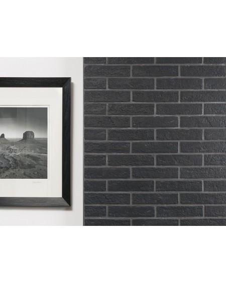 Obklad brick polomatný New York black 6,5x25cm výrobce Rondine