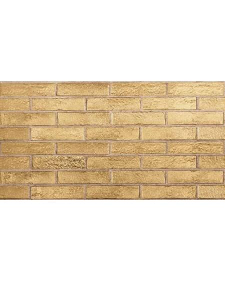 Obklad brick polomatný New York gold 6,5x25cm výrobce Rondine