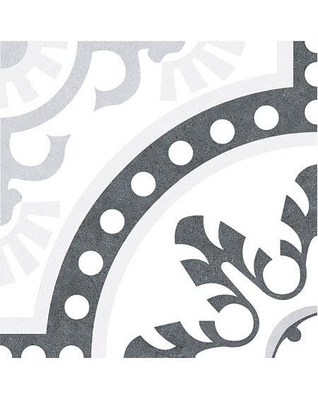 Dlažba obklad se vzorem Duart Grey Art retro 25x25cm matná výrobce Codicer