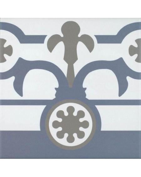 Dlažba obklad se vzorem Hidraulico Ducados Cenefa Art retro 25x25cm pololesk výrobce Codicer cena za 1/m2