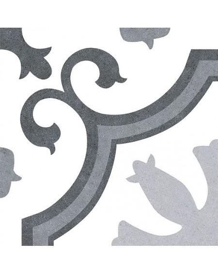 Dlažba obklad se vzorem Lacour Grey Art retro 25x25cm polomat výrobce Codicer