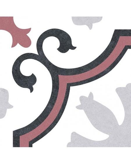 Dlažba obklad se vzorem Lacour Red Art retro 25x25cm polomat výrobce Codicer