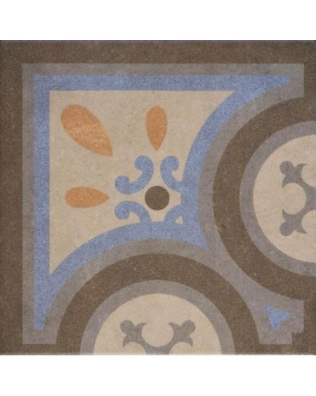Dlažba obklad se vzorem art Retro Angulo 08 patchwork matná 25x25cm výrobce Codicer