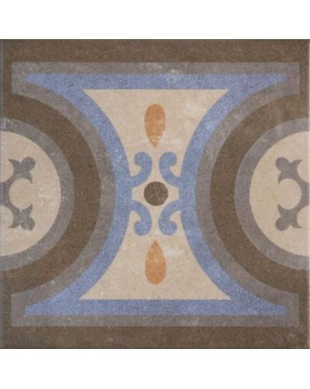 Dlažba obklad se vzorem art Retro Cenefa 07 patchwork matná 25x25cm výrobce Codicer