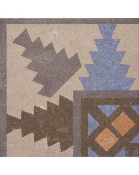 Dlažba obklad se vzorem art Retro Angulo 03 Interior patchwork matná 25x25cm výrobce Codicer