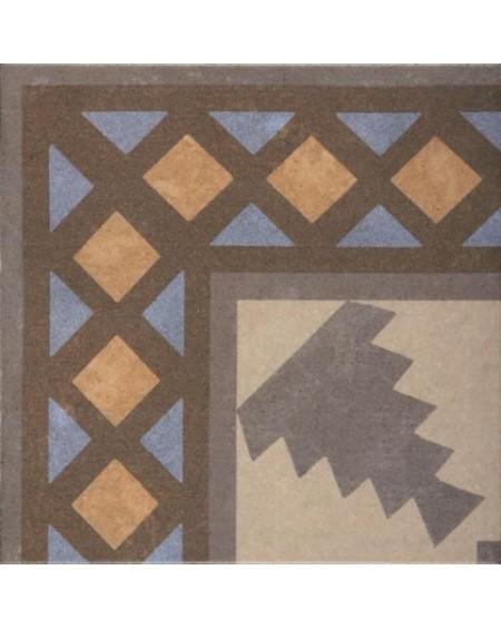 Dlažba obklad se vzorem art Retro Angulo 03 Exterior patchwork matná 25x25cm výrobce Codicer