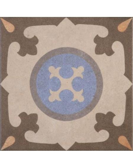 Dlažba obklad se vzorem art Retro 05 patchwork matná 25x25cm výrobce Codicer