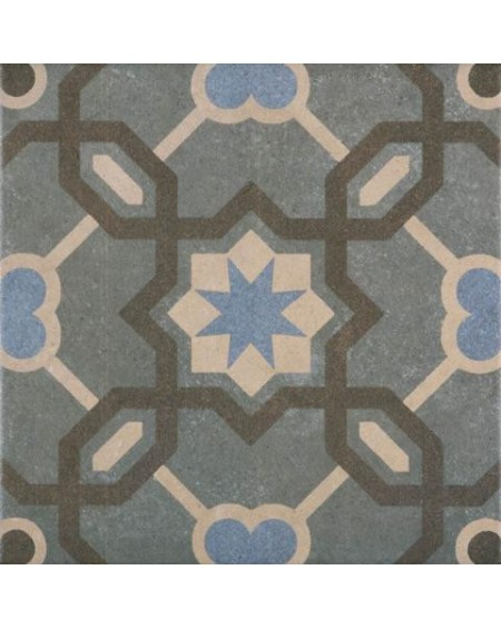 Dlažba obklad se vzorem art Retro 13 patchwork matná 25x25cm výrobce Codicer green