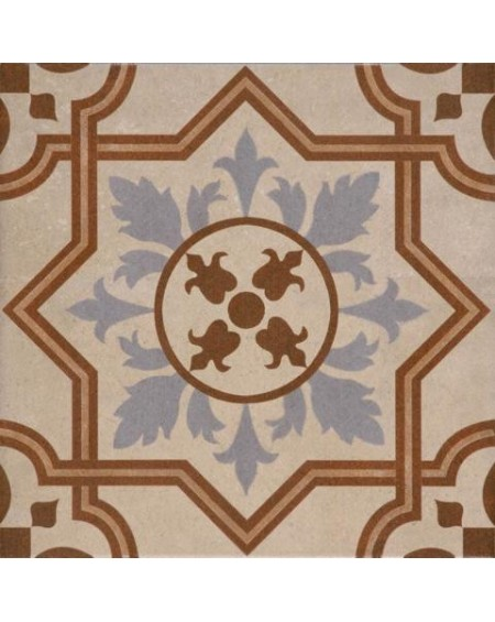 Dlažba obklad se vzorem art Retro 10 patchwork matná 25x25cm výrobce Codicer