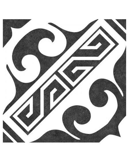 Dlažba obklad se vzorem Versalles Black 25x25cm vintage retro pololesk výrobce Codicer