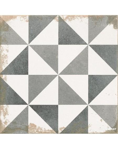 Dlažba obklad Antique Triangle NE - MIX černobílá patina 33x33cm výrobce Realonda