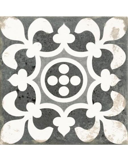 Dlažba obklad Antique Patchwork MIX černobílá patina 33x33cm výrobce Realonda